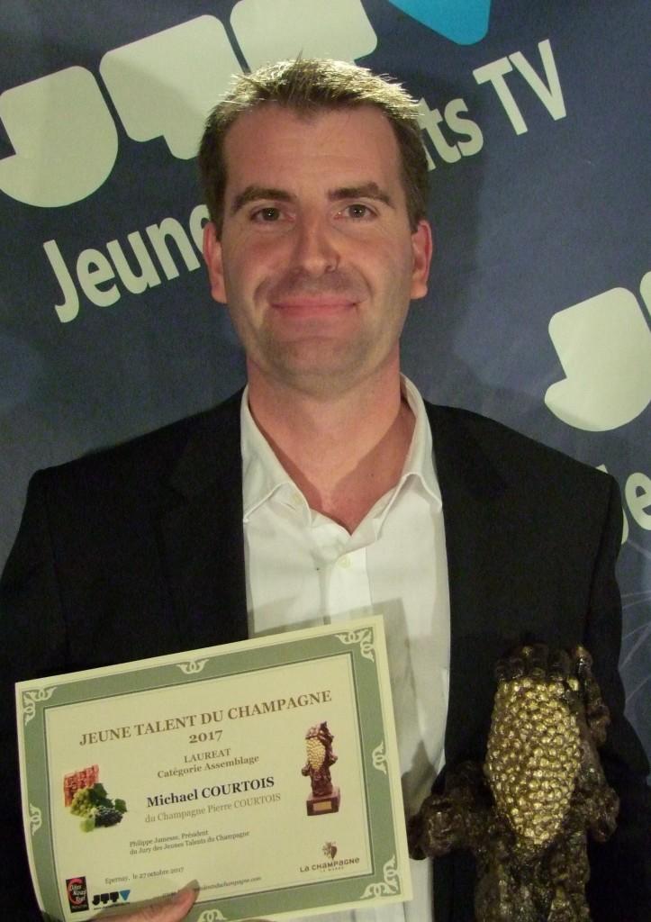 Michael COURTOIS du Champagne Pierre COURTOIS