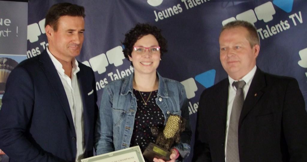 Prix du Public : Marie PETIT LORIOT du Champagne APOLLONIS