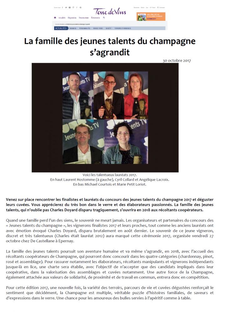 TERRE DE VINS 30 OCTOBRE 2017 page 1