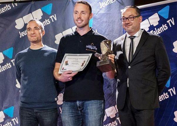Mathieu FANIEL du Champagne FANIEL Prix du Public